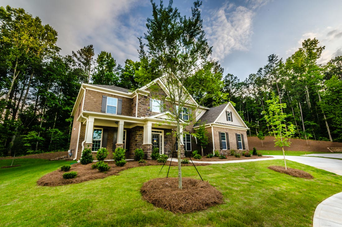 Executive landscaping inc serving the atlanta ga area for Home garden design atlanta