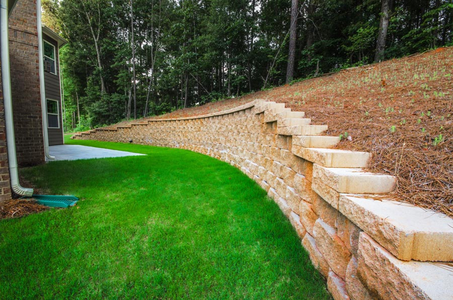 Retainer Walls for Erosion Control