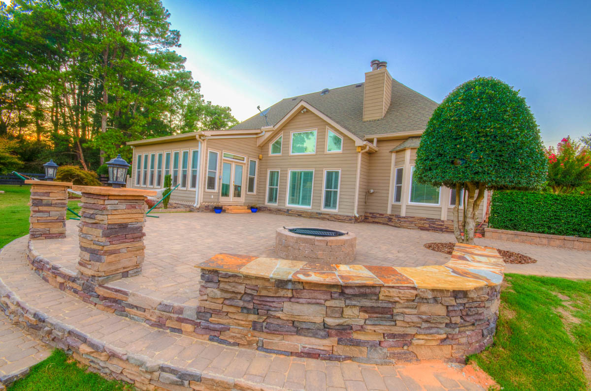 Hardscape Design - Executive Landscaping, Inc. on Backyard Hardscape Design id=54017